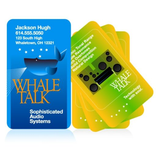 Plastic Business Cards with Rounded Corners