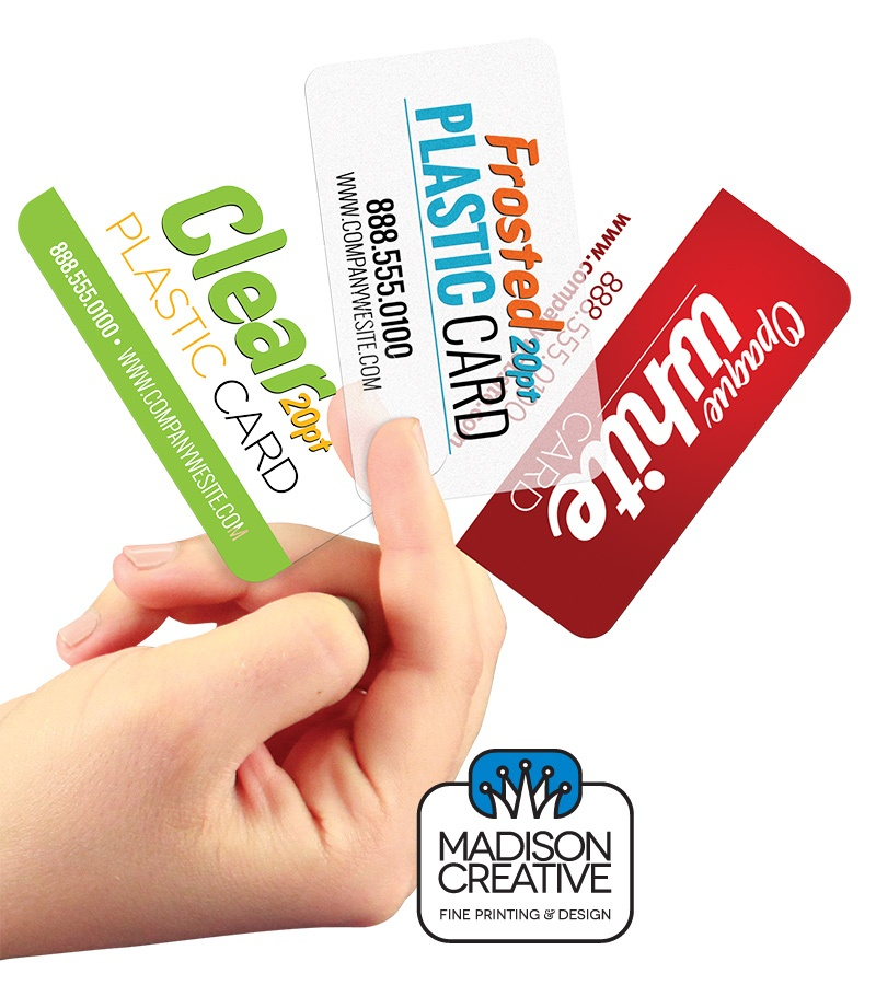 Full Color Online Plastic Business Cards Printed In Highest Quality